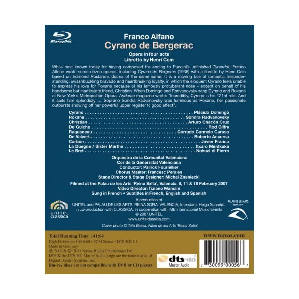 Cyrano De Bergerac [Blu...の紹介画像3