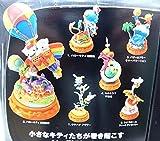 サンリオドリームパーティ 10個入1BOX未開封 海洋堂ミニヴィネットフィギュ ア 北陸製菓 2008年発売品 画像