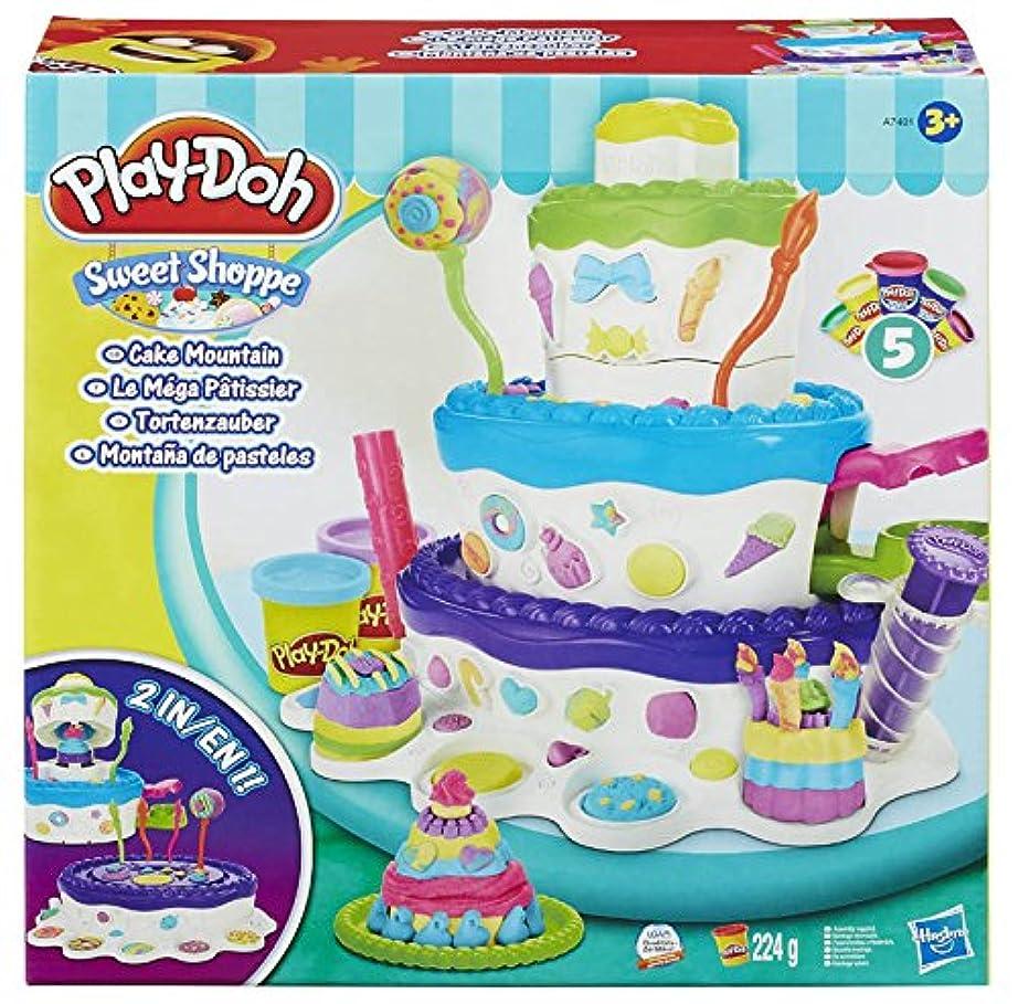 【プレイ?ドー】Play-Doh Cake Mountain ケーキマウンテン(小麦ねんど)?並行輸入品
