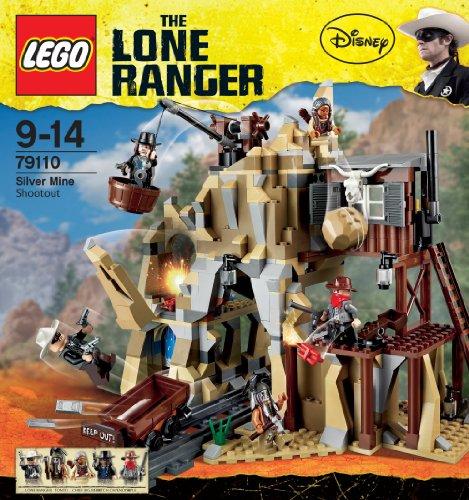 レゴ ローンレンジャー 銀の鉱山での決戦 79110