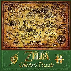 ゼルダの伝説 ジグソーパズル 地図 550ピース 45cm×60cm [並行輸入品]