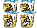 エースコック JANJAN 鶏しお味焼そば レモン風味 102g×4個