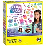 Creativity for Kids Colour Your Mood Crystal Jewellery Fashion Craft Kit