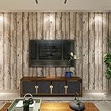 (ハンメロ)HANMEROリビング 部屋 diy リフォーム用 木目調 はがせる ビニール壁紙 のりなし 53cm×10m 自然木材のホワイト