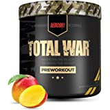 Redcon1 Total War - Limited Edition Line - Pre Workout, 30 Servings, Boost Energy, Increase Endurance and Focus (Mango)
