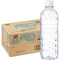 Smart Basic(スマートベーシック) [Amazon限定ブランド] 天然水 ラベルレス 500ml ×24本 富…