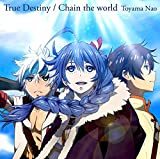 True Destiny/Chain the world(アニメ盤) 画像