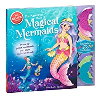 The Marvelous Book of Magical Mermaids: Dress Up Paper Mermaids and Their Seahorse Friends (Klutz)