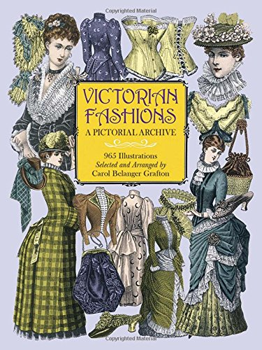 Victorian Fashions: A Pictorial Archive, 965 Illustrations (Dover Pictorial Archive)の詳細を見る