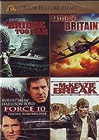 Four Feature Films: A Bridge Too Far Battle of Britain Force 10 The Mckenzie Break [並行輸入品]