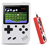 BLANDSTRS Handheld Game Console, Retro Mini Game Player with 520 Classic FC Games , 800mAh Rechargeable Battery Handheld Game