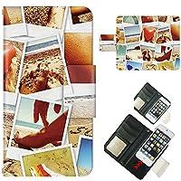 AQUOS Phone SH-01D ☆ ケース・カバー 完全受注生産 完全国内印刷 スライド式スマホケース 手帳型 写真 海辺の思い出 アクオス フォン ホン ゼータ セリエ スマホカバー オリジナルデザイン プリント 日本製