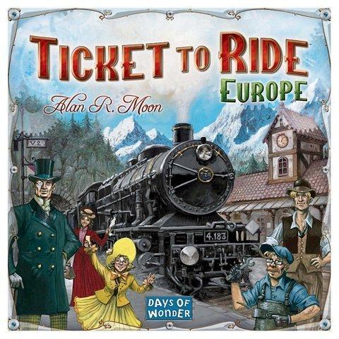 新・チケット・トゥ・ライド ヨーロッパ (New Ticket to Ride: Europe Strategy) ボードゲーム