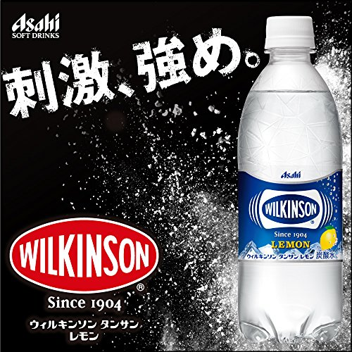 アサヒ飲料ウィルキンソンタンサンレモン強炭酸水500ml×24本