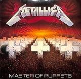 Master Of Puppets(1986 UK ORIGINAL,MFN 60)[Metallica][LP盤]