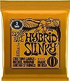 【正規品】 ERNIE BALL ギター弦 ハイブリッド (09-46) 3セットパック 3222 HYBRID SLINKY 3SET PACK