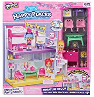 Shopkins ショップキンズ Happy Home Party Studio Happy Places Home Collection 【並行輸入品】