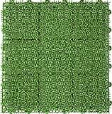 日本製! 水はけ抜群 屋外でも長期間OK! 家庭用人工芝  つなげる人工芝 ユニットターフ E型 30×30cm※1枚の価格です