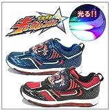 光る戦隊靴 宇宙戦隊キュウレンジャー キッズ フラッシュ スニーカー 3014