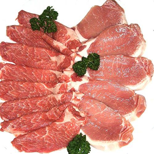 【肉のひぐち】イベリコ豚しゃぶしゃぶギフトセット400g(ロース200g、肩ロース200g)