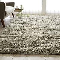 エクセレントムーティ II 基础系列超细纤维绒地毯可水洗可折叠 ホットカーペットカバー 适用防滑带