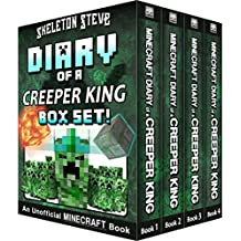 Diary of a Minecraft Creeper King BOX SET - 4 Book Collection 1: Unofficial Minecraft Books for Kids, Teens, & Nerds - Adventure Fan Fiction Diary Series ... Mobs Series Diaries - Bundle Box Sets 5)