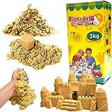 チラカサンド 追加用 砂 3kg サンドカラー キネティック で 不思議な 砂 サンド お片づけ簡単 散らからない 砂遊び