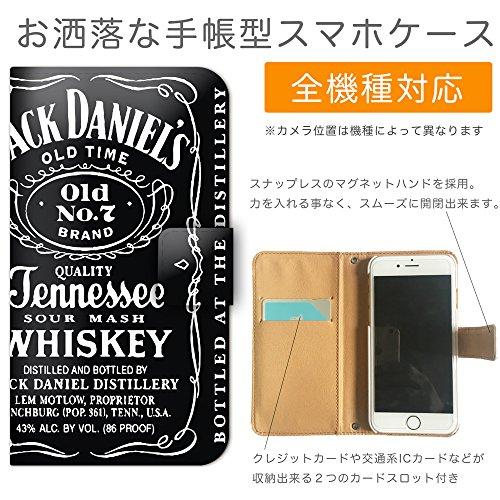 フート?・ト?リンク2 手帳型 iPhone X iPhoneX (P000703_03) ジャック ダニエル 酒 洋酒 スマホケース アイフォン 各社共通