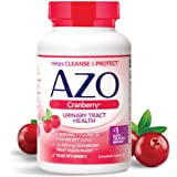 AZO Cranberry, Daily Urinary Tract Health Dietary Supplement, 25,000 mg Of Cranberry Fruit Equivalent Per Dose Equal To One G