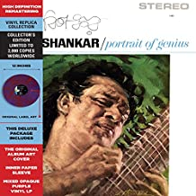 Ravi Shankar - Portrait Of Genius [LP] (Mixed Opaque Purple Vinyl, printed inner sleeve, limited to 1200
