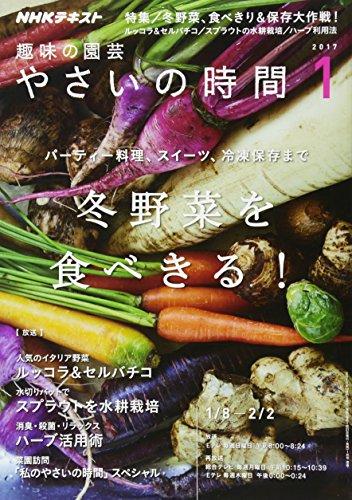 NHK趣味の園芸 やさいの時間 2017年1月号 [雑誌] (NHKテキスト)の詳細を見る