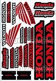 KUNGFU GRAPHICS カンフー グラフィックス Honda(ホンダ) サイレンサー レーシングスポンサーロゴ マイクロデカールシート(ホワイト)
