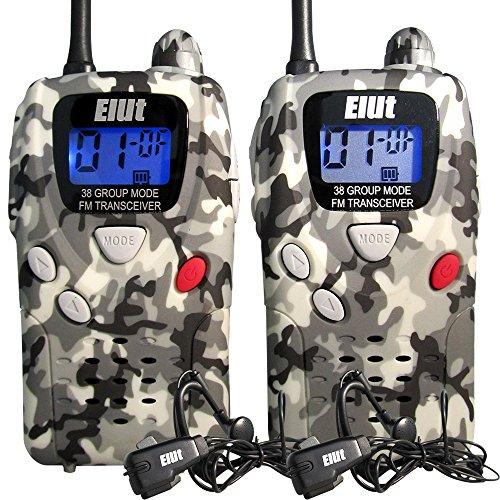 ELUT(エルト)特定小電力トランシーバー 2台セット イヤ...