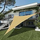 SEASONS 3.6m正三角形砂色 UVカット シェード セイル