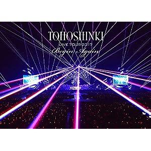 東方神起 LIVE TOUR 2017 ~Begin Again~(DVD2枚組)(スマプラ対応)(通常盤)