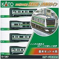 KATO Nゲージ E233系 3000番台 東海道線・上野東京ライン 基本 4両セット 10-1267 鉄道模型 電車