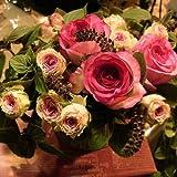 【パリスタイルの花屋】ピアジュとミミエデンの春アレンジメント 楽屋見舞い・公演・出演のお祝い 各種お祝い・記念日に