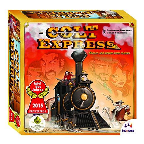 Colt Express: Gesellschaftsspiel. Spieldauer ca. 40 Minuten