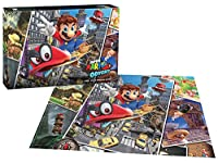 Super Mario Odyssey Snapshots Premium Puzzle (製造元:USAopoly) [並行輸入品]