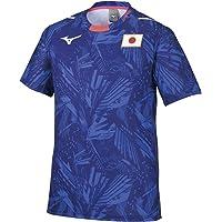 [ミズノ] 応援Tシャツ JAPANロゴ 選手団着用 日本代表 レプリカモデル ユニセックス ジュニア有り 32MA05…