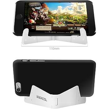 BEBONCOOL iPad スタンド タブレットPC スマートフォン対応 角度可調節 (白)