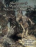 Shakespeare's A Midsummer Night's Dream (Dover Fine Art, History of Art)