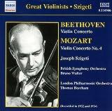 Beethoven / Mozart: Violin Concertos (Szigeti) (1932, 1934)