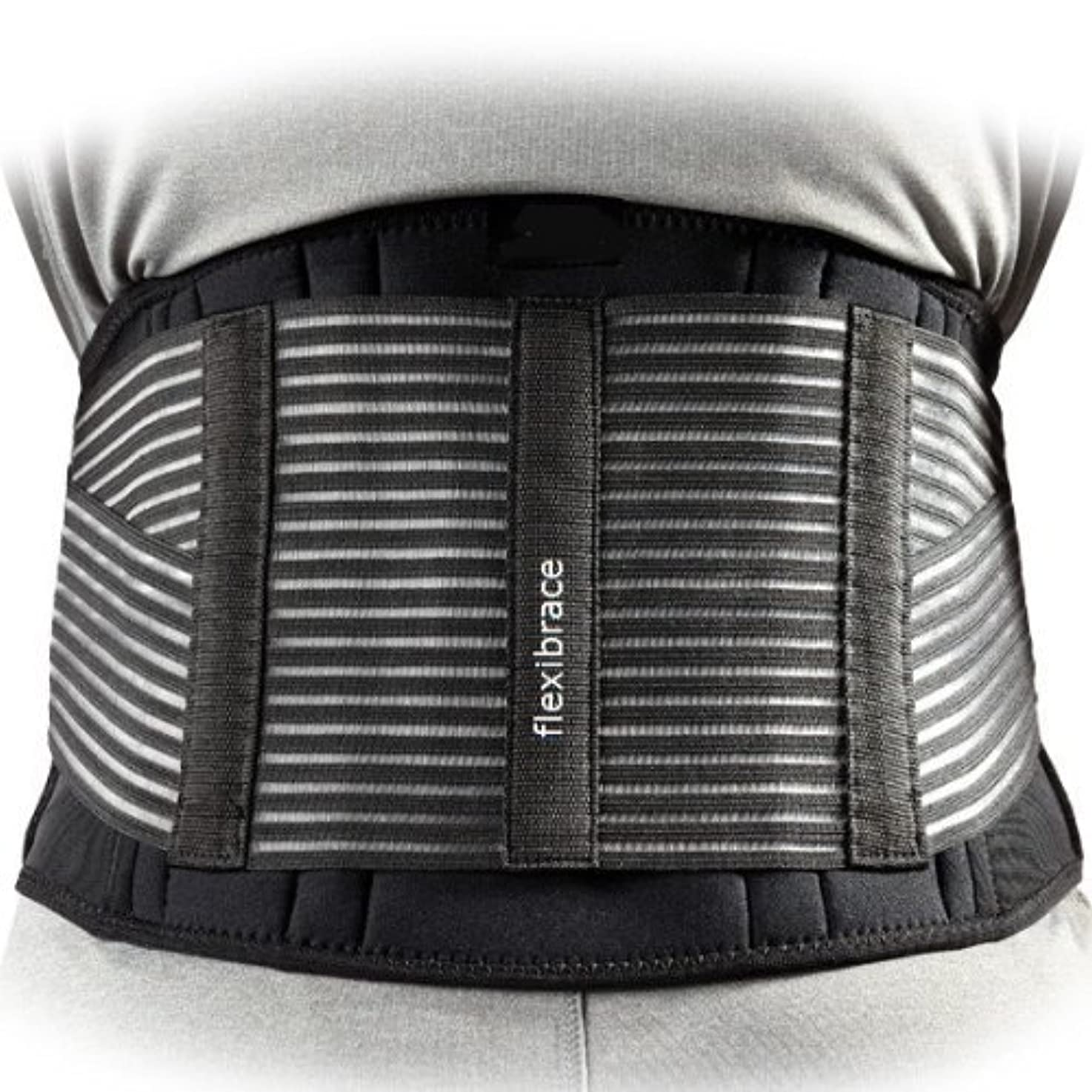 Flexibrace社 アメリカで一番売れている 骨盤ベルト コルセット (腰痛ケア)海外直送品?並行輸入品 (XLサイズ ウエスト105cm から 127cm)
