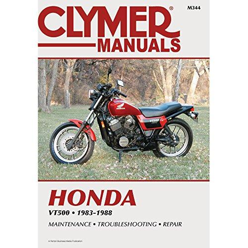 1983–1988HONDA vt500クライマー手動hon vt50083–88、製造元:クライマー、メーカー部品番号: m344-ad、ストックフォト–実際パーツは異なる場合があります。