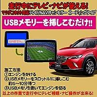 CX-3用 TVキャンセラ―/ナビキャンセラー USB解除タイプ マツダコネクト対応 テレビキャンセラ―