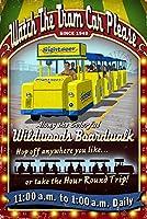 Wildwood、新しいジャージー–Tram Car Vintage Sign 16 x 24 Signed Art Print LANT-45868-709