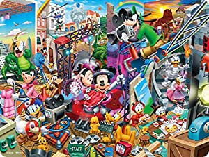 99ピース 3Dマジックジグソーパズル ミッキーのムービースタジオ 【レンチキュラー】