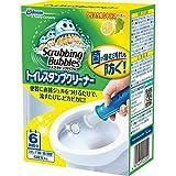 スクラビングバブル トイレ洗浄剤 トイレスタンプクリーナー クリスタルシトラスの香り 本体 (ハンドル1本+付替用1本) 6スタンプ分 38g