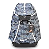 (ナイキ) Nike メンズ フープス エリート マックス エア チーム ブルー グレー バスケットボール スポーツ バッグ バックパック リュック Hoops Elite Max Air Team Blue Grey Men Basketball Backpack Bag BA5260-449 [並行輸入品]